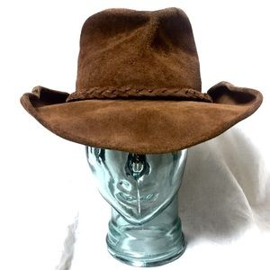 Minnetonka Leather Hat